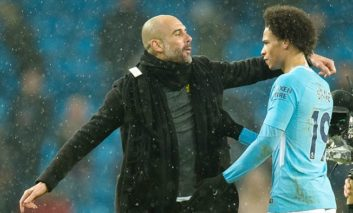 PFA award winner Sane hails 'best coach' Guardiola