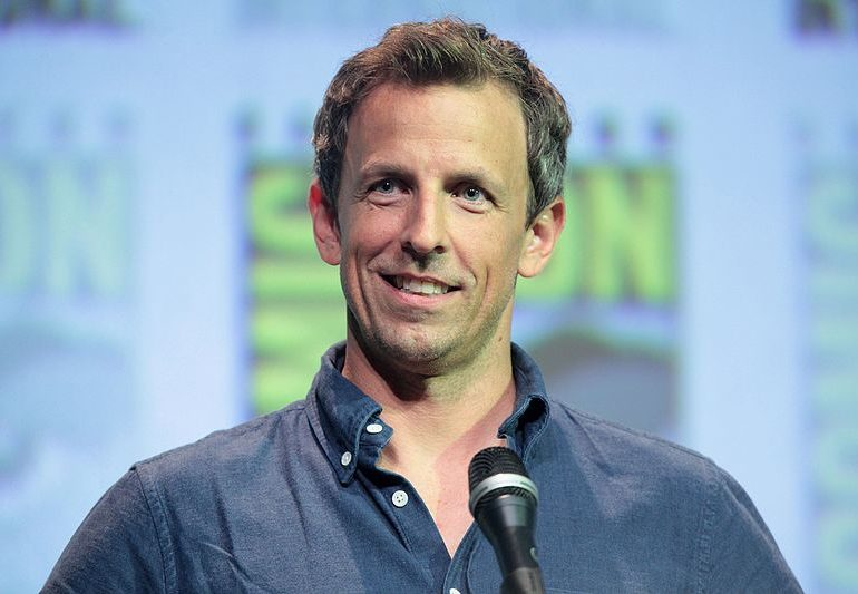Seth Meyers Reveals His Wife Had a Baby in Their Apartment Lobby
