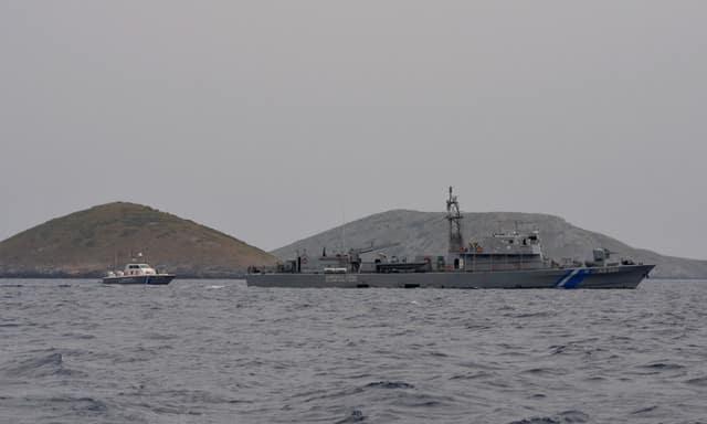 Turkey warns Greece after hoisting of flag on Aegean islet