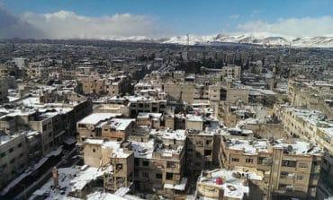 Syrian government raises flag in Douma - Russian agencies