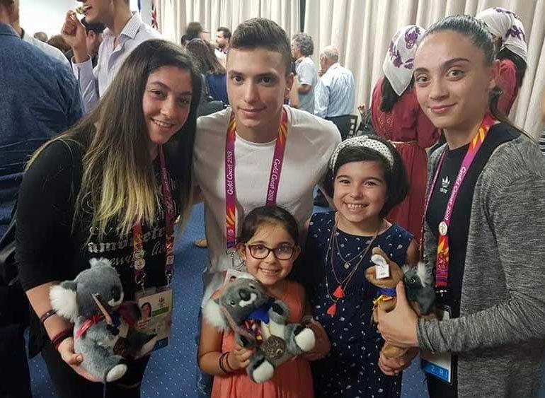Diaspora welcome for Cyprus athletes