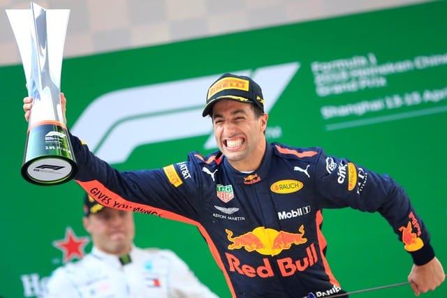 Ricciardo wins Chinese Grand Prix for Red Bull