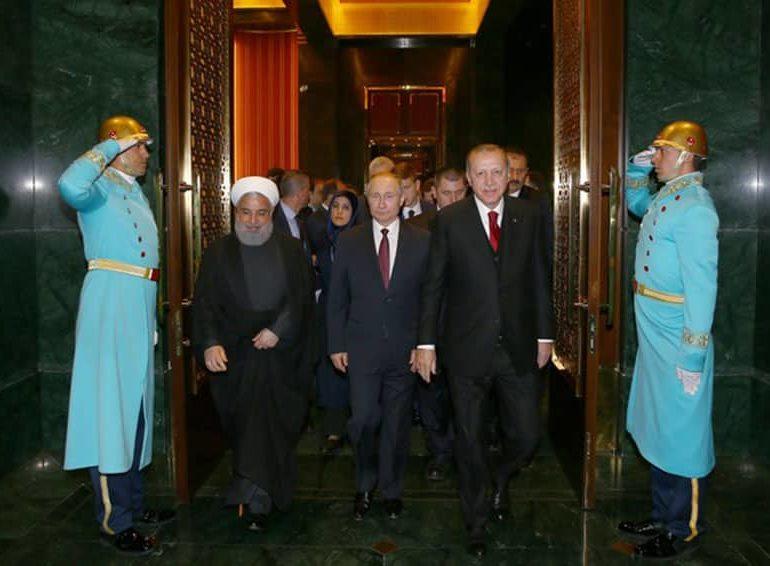 Turkish, Iranian leaders meet ahead of Syria summit with Russia