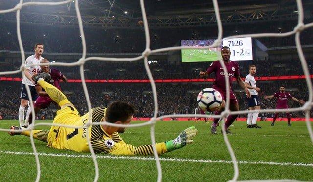 Manchester City rebound to beat Tottenham at Wembley