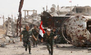Syrian army renews push on besieged areas