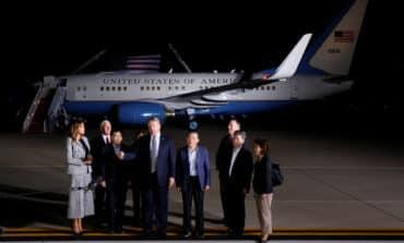 Trump welcomes U.S. prisoners released by N.Korea, thanks Kim