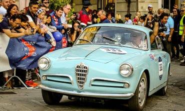 Alfa Romeo takes top three places at Mille Miglia