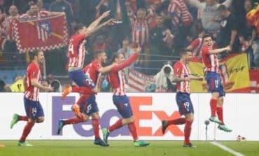 Griezmann scores twice as Atletico sink hapless Marseille