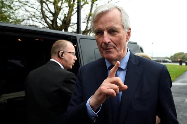 EU's Barnier urges UK to accept EU court deal for Brexit