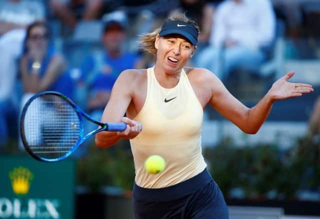 Sharapova seeks redemption on Roland Garros clay