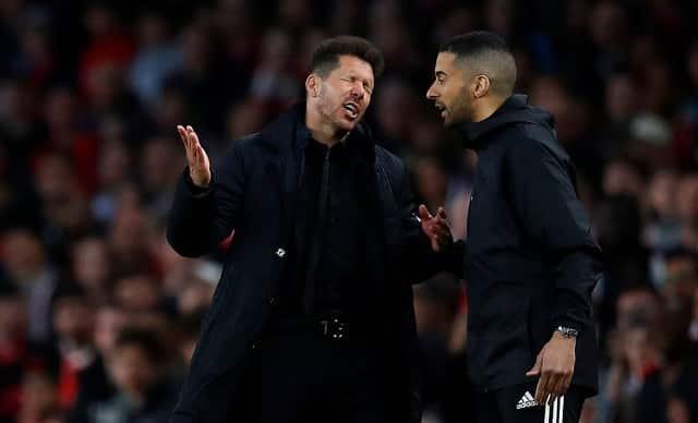 Simeone handed Europa League final touchline ban
