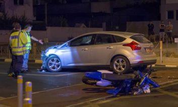 Teenage motorcyclist dies in traffic accident