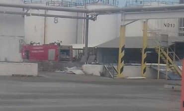 Larnaca mayor says oil storage unit blaze caused by negligence