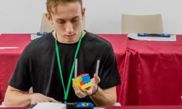 A minute with  Panagiotis Raphael Rubik's Cube master