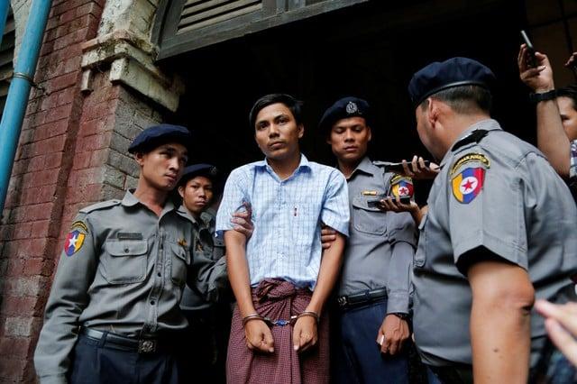 Myanmar policeman in Reuters reporters case details operation