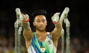 Champion gymnast was 'born this way'