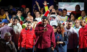 After re-election, Venezuela's Maduro faces overseas condemnation