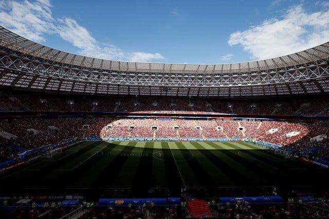 Spain vs Russia Luzhniki Stadium