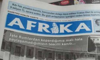 Union criticises Afrika publication ban