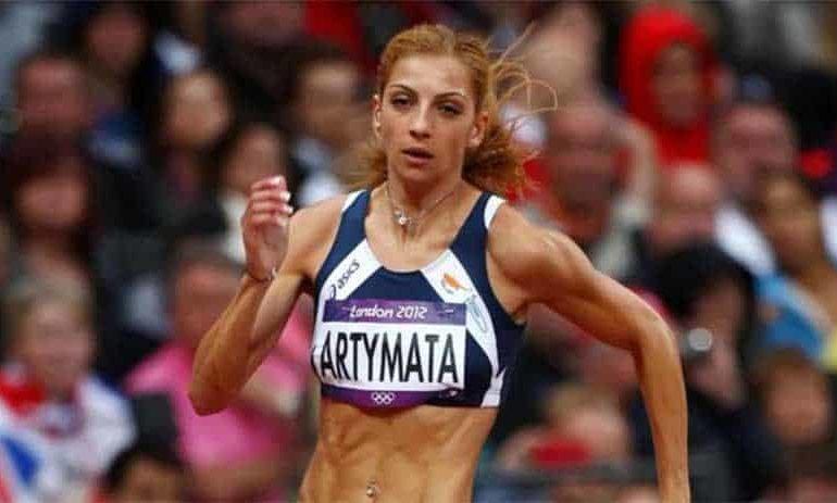Artymata writes history for Cypriot athletics