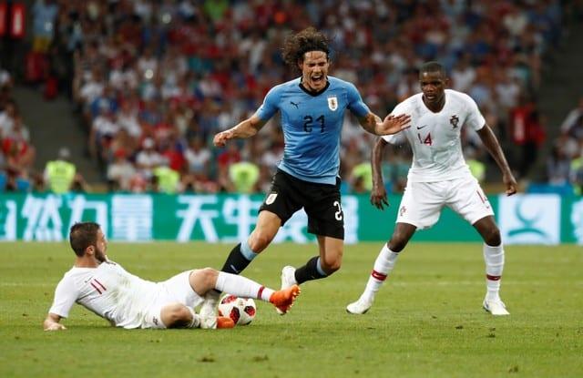 Brilliant Cavani brace gives Uruguay 2-1 win over Portugal