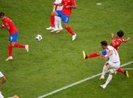 Captain Kolarov strikes as Serbia beat Costa Rica 1-0
