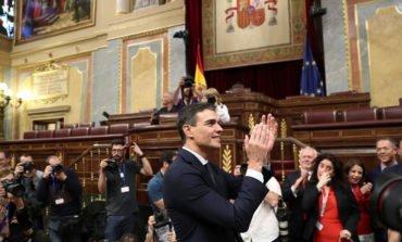 Pedro Sanchez sworn in as new Spanish prime minister