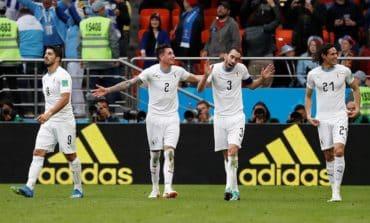 Uruguay beat Salah-less Egypt to end 48-year jinx
