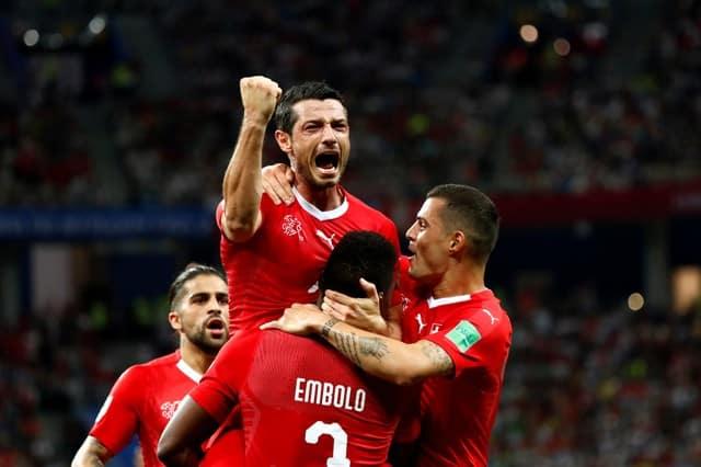 Switzerland through to last 16 to meet Sweden