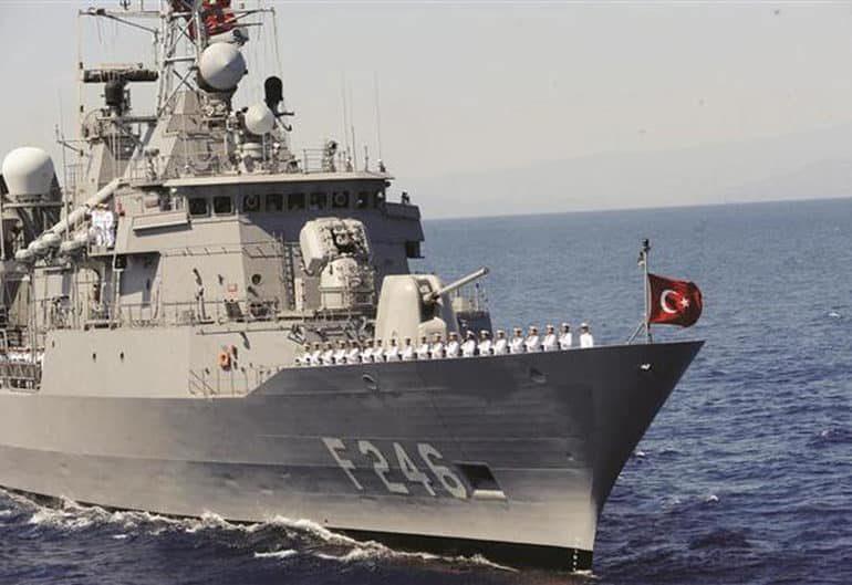 Turkish rescue exercises off Kyrenia
