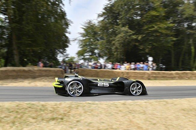 Driverless race car completes Goodwood hillclimb