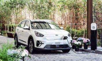 Electric Kia Niro EV crossover will make Euro debut in Paris