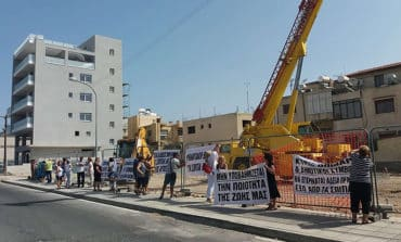 Residents protest over building of fifth petrol station