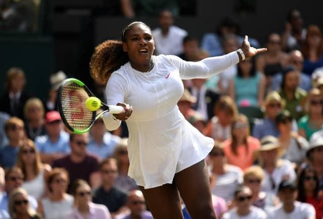 Super-Mom Serena into 10th Wimbledon final
