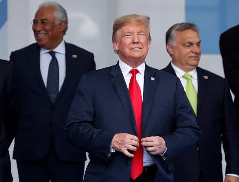Abrasive Trump demands allies doubleNatospending