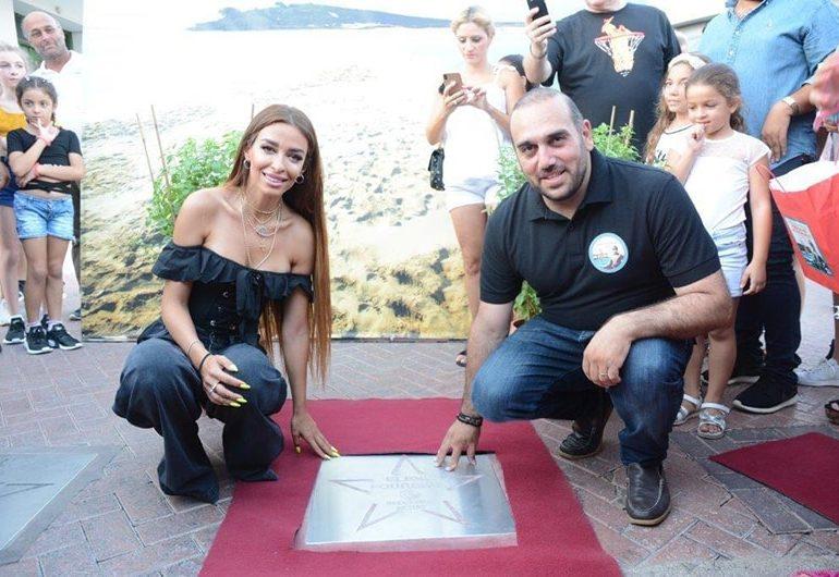 Foureira gets celebrity star in Ayia Napa