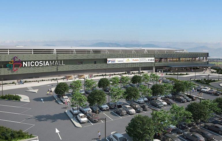 Nicosia Mall at 100 per cent