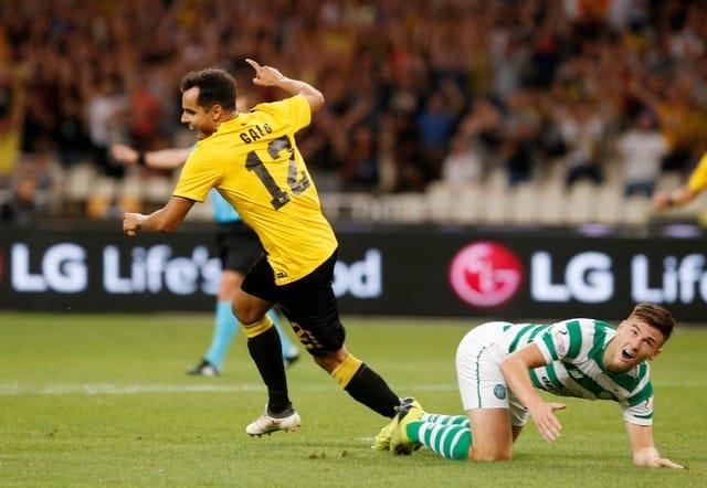 Greek delight as big guns reach Champions League play-offs