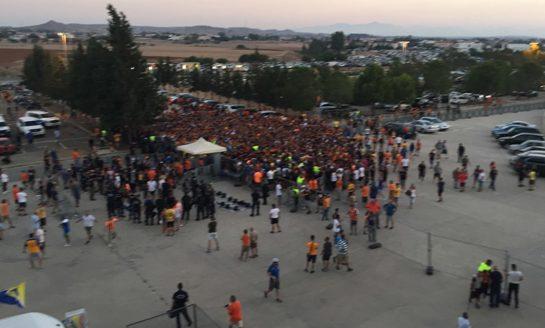 Apoel-Hapoel game delayed as fans overwhelm security bottleneck