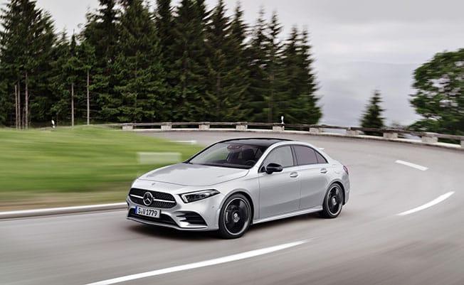 New Mercedes A-class Saloon