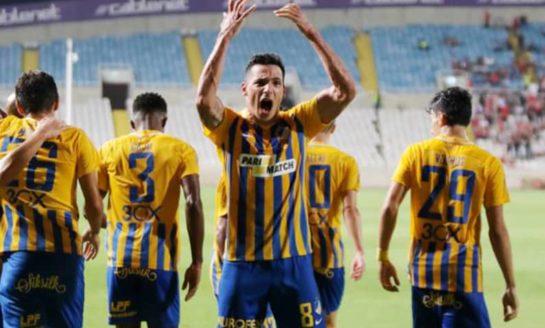 Apoel back on track with Europa League hopes