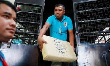 Thailand seizes huge $45m haul of methamphetamines