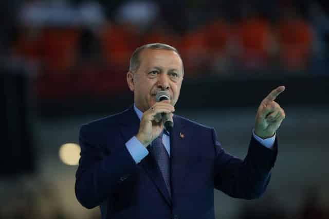 "Erdogan dismisses lira fears, says ""we have our God"""