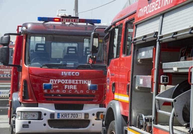 Fire in Akamas burns around six hectares