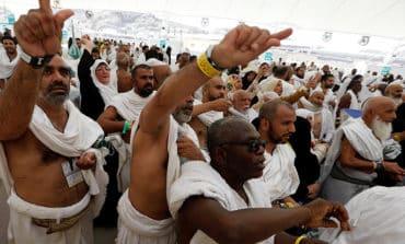 Muslims at haj converge on Jamarat for ritual stoning of the devil
