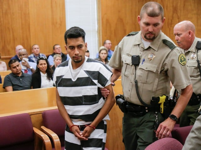 Accused killer of Iowa college student appears in court