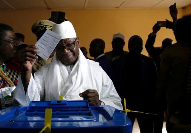 Mali president Keita wins re-election with 67 pct of vote