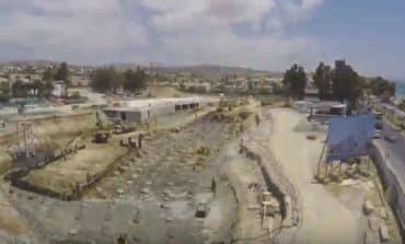 Limassol Del Mar timelapse video shows construction progress