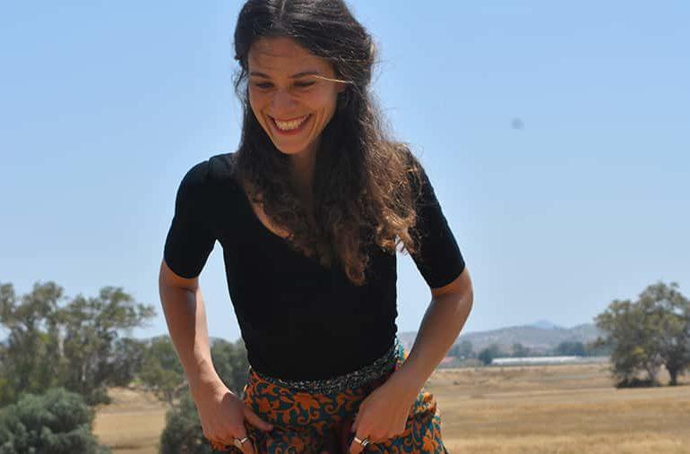 A minute with Marina Katsari Storyteller and drama educator
