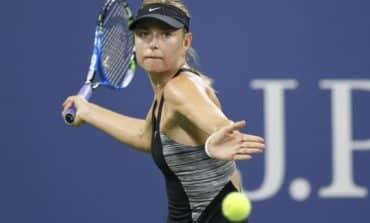 Sharapova battles past Cirstea to set up Ostapenko clash